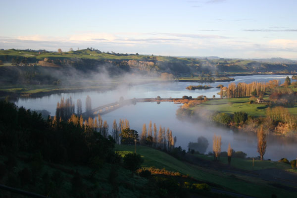Lake Karapiro near The Oar & Paddle